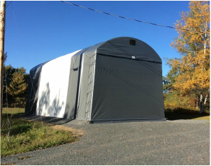 Canadian Made Shelters - Portable Garages Canada 1-888-290 ...
