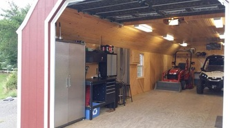 Portable Garage Workshop - Portable Garages Canada 1-888 ...